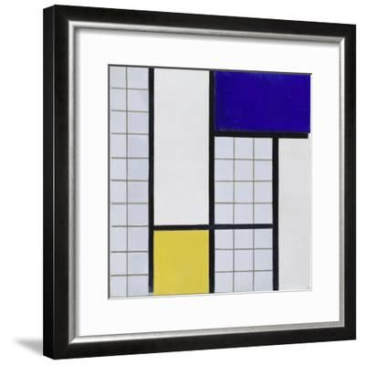 Composition En Demi Valeurs, 1928-Theo van Doesburg-Framed Giclee Print