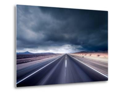 Dark Road--Metal Print