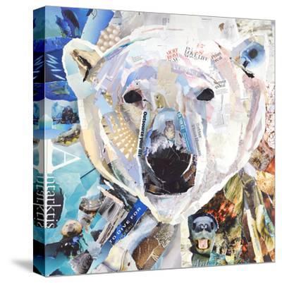 Polar Bear-James Grey-Stretched Canvas Print