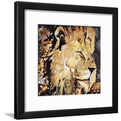 The Lion-James Grey-Framed Giclee Print