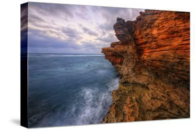 Dynamic Seascape Textures, Kauai Hawaii-Vincent James-Stretched Canvas Print