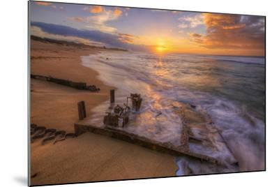 The End of the Road, Polihale Beach, Kauai Hawaii-Vincent James-Mounted Photographic Print