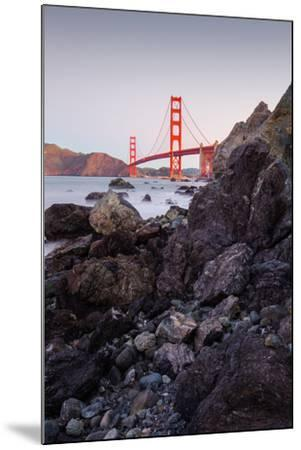 View From The Rocks II, Golden Gate Bridge, San Francisco-Vincent James-Mounted Photographic Print