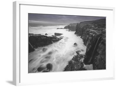 Moody Sonoma Seascape, California Coast-Vincent James-Framed Photographic Print