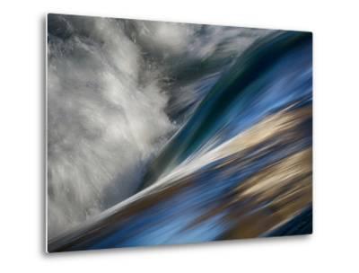 River Wave-Ursula Abresch-Metal Print