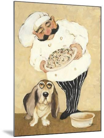 Dogs and Pasta-Carole Katchen-Mounted Premium Giclee Print