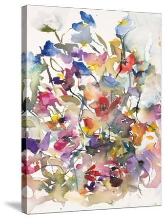 Karin's Garden 3-Karin Johannesson-Stretched Canvas Print