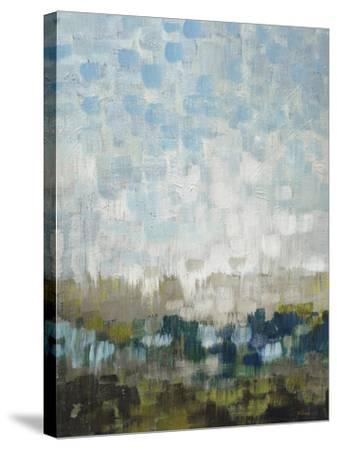 Fields Afar-Wendy Kroeker-Stretched Canvas Print
