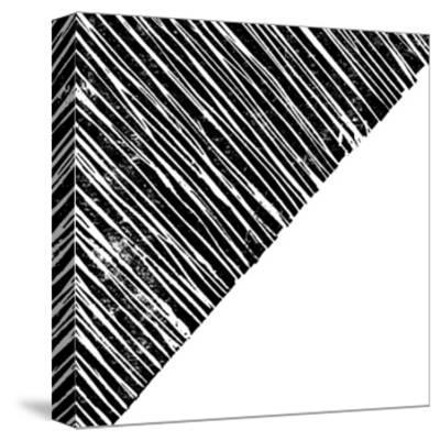Starkly Lined B-THE Studio-Stretched Canvas Print