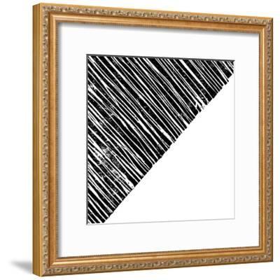 Starkly Lined B-THE Studio-Framed Premium Giclee Print