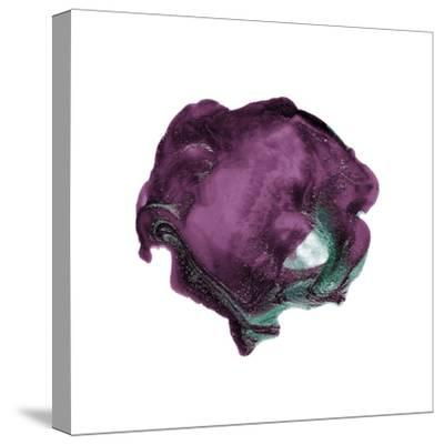 Polished in Eggplant--Stretched Canvas Print