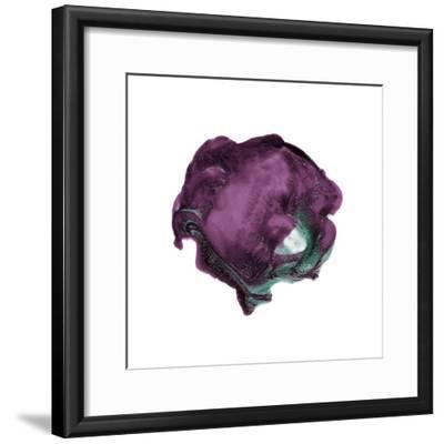 Polished in Eggplant--Framed Premium Giclee Print