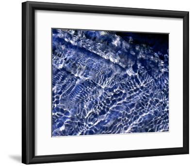 Water Blue-Karen Ussery-Framed Premium Giclee Print