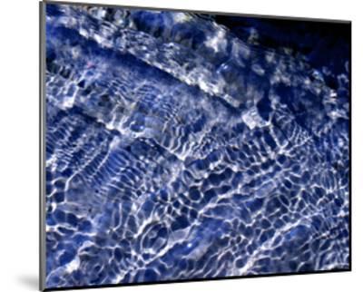 Water Blue-Karen Ussery-Mounted Premium Giclee Print