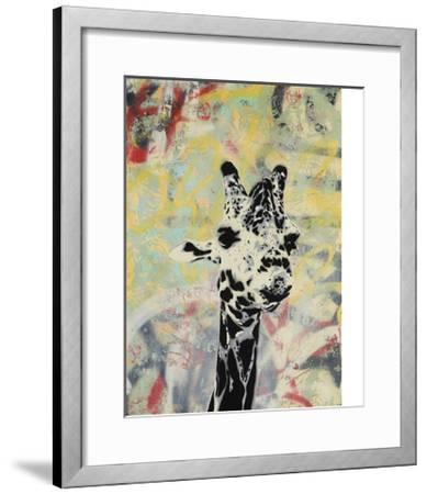 Giraffe-Urban Soule-Framed Premium Giclee Print