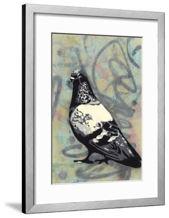 Rock Pigeon-Urban Soule-Framed Premium Giclee Print