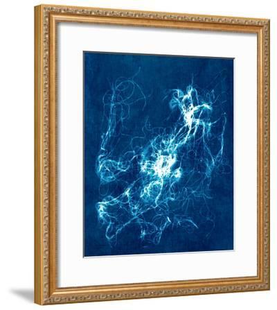 Cyanotype String 1--Framed Premium Giclee Print