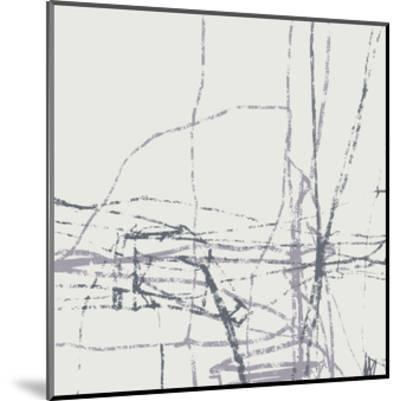Chalk Doodles H-Gregory Garrett-Mounted Premium Giclee Print