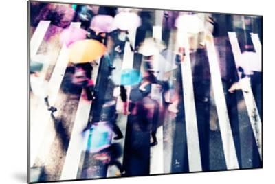 Rainy Days A--Mounted Premium Giclee Print