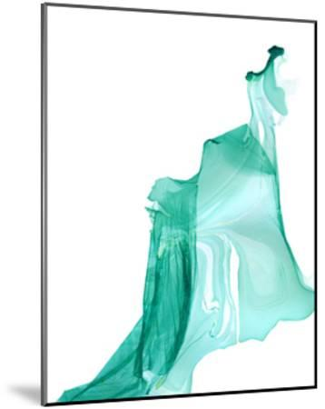 Nail Polish Abstract L--Mounted Premium Giclee Print