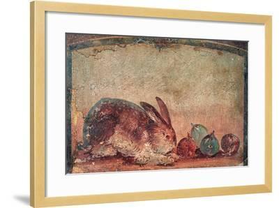 Rabbit Easting Figs, C. 45-79--Framed Art Print