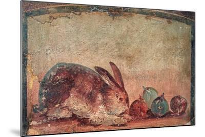 Rabbit Easting Figs, C. 45-79--Mounted Art Print