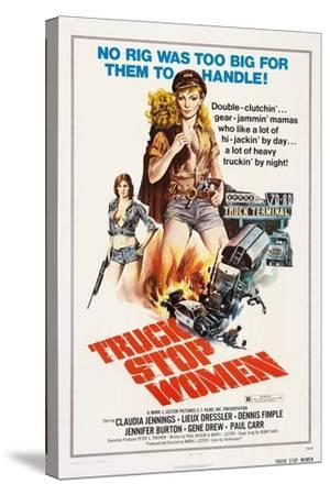 Truck Stop Women, 1974--Stretched Canvas Print