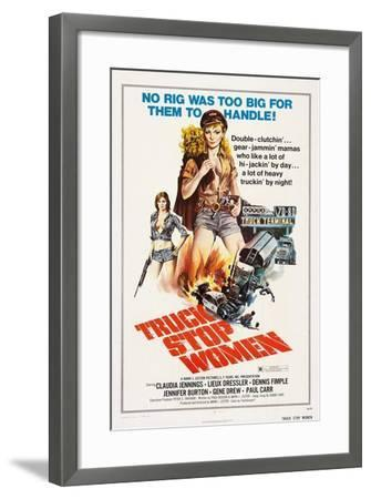 Truck Stop Women, 1974--Framed Art Print