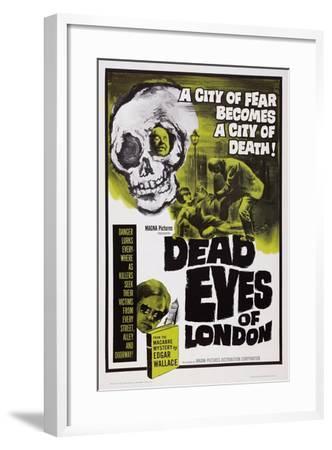 Dead Eyes of London, 1961--Framed Art Print