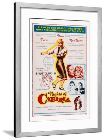 Nights of Cabiria, 1957--Framed Art Print