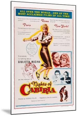 Nights of Cabiria, 1957--Mounted Art Print