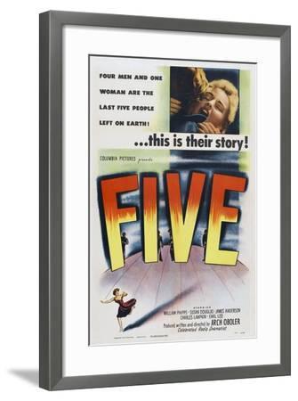 Five, 1951--Framed Art Print