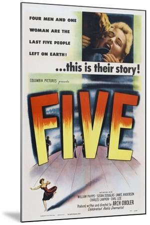 Five, 1951--Mounted Art Print