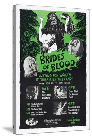 Brides of Blood, 1968--Stretched Canvas Print