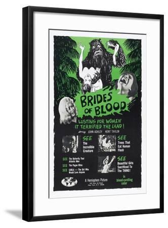 Brides of Blood, 1968--Framed Art Print