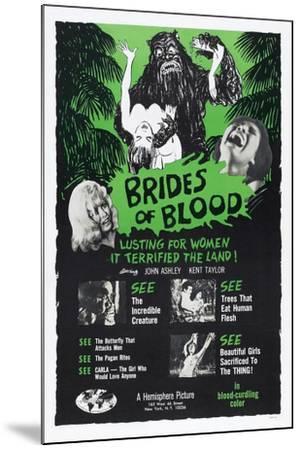 Brides of Blood, 1968--Mounted Art Print
