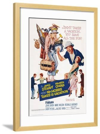 Mr. Hobbs Takes a Vacation--Framed Art Print
