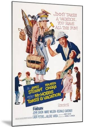 Mr. Hobbs Takes a Vacation--Mounted Art Print