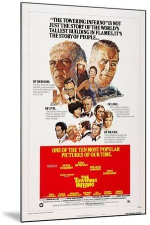 The Towering Inferno, 1974--Mounted Art Print