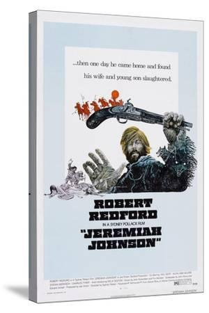 Jeremiah Johnson, Robert Redford, 1972--Stretched Canvas Print