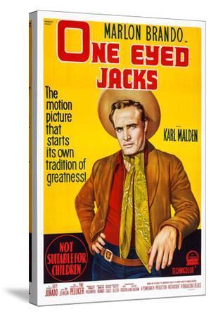 One-Eyed Jacks, Marlon Brando, 1961--Stretched Canvas Print