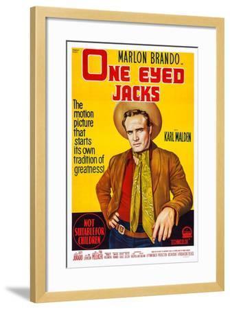 One-Eyed Jacks, Marlon Brando, 1961--Framed Art Print