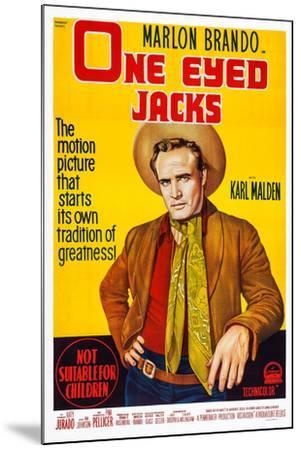 One-Eyed Jacks, Marlon Brando, 1961--Mounted Art Print