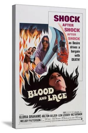 Blood and Lace, 1971--Stretched Canvas Print