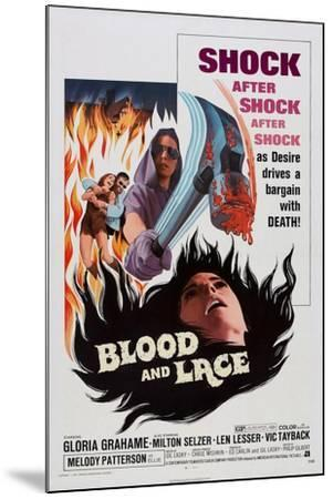 Blood and Lace, 1971--Mounted Art Print
