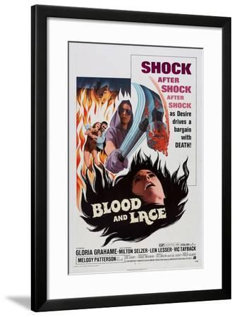 Blood and Lace, 1971--Framed Art Print