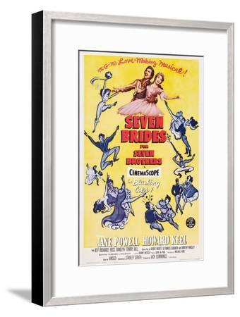 Seven Brides for Seven Brothers, 1954--Framed Art Print