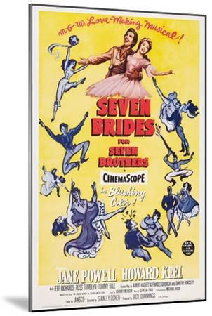 Seven Brides for Seven Brothers, 1954--Mounted Art Print