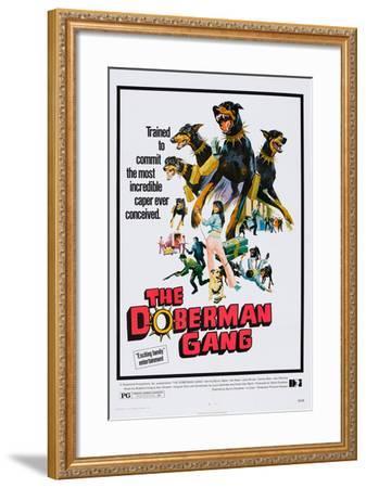 The Doberman Gang, 1972--Framed Art Print