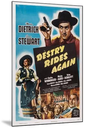 Destry Rides Again, 1939--Mounted Art Print